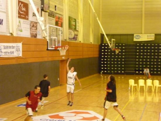 Kevin au lay-up