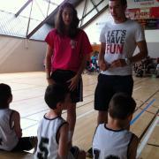 Clarisse et Clem coachent les Minis