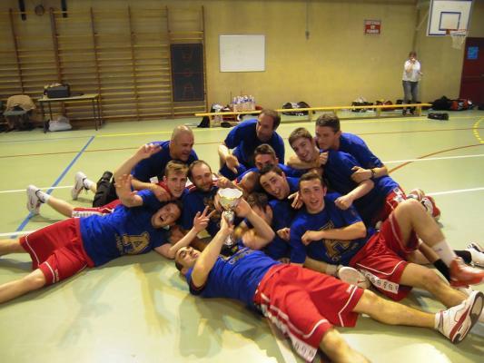 Nos SM1 champions des Alpes en mai dernier