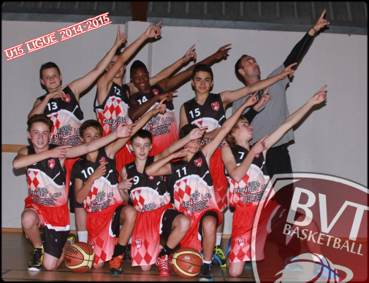 Les U15 ligue au bout du suspens