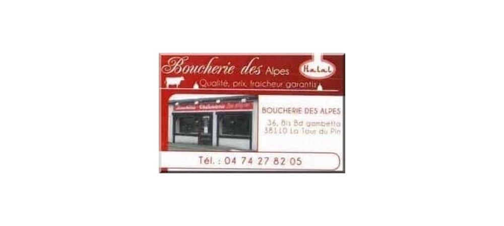Boucherie des Alpes