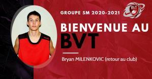 Bryan MILENKOVIC