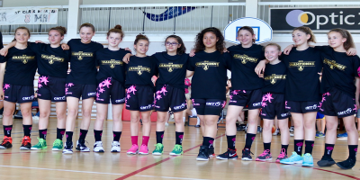 Les U13 championnes des Alpes 2018