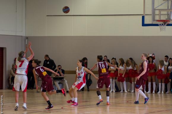 Défaite des copines de Clo TARDY à Bresse Basket