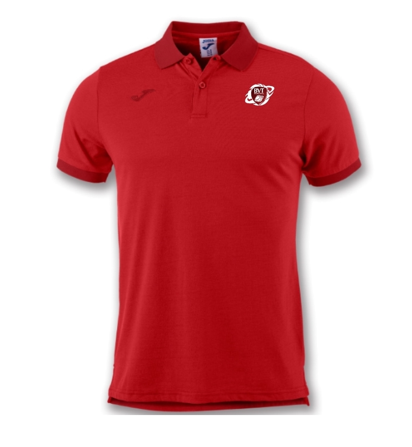 Polo Polyester Rouge JOMA - 25€