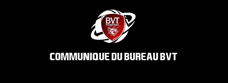LE BUREAU S'EXPRIME AU SUJET DES LICENCES