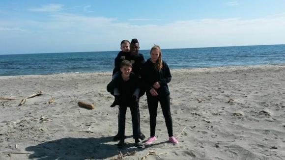 Enzo, Eliott, Raf et Agathe, 3 BVTISTES en Corse