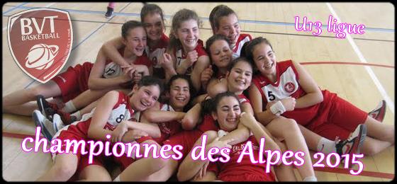 Championnes des Alpes 2015