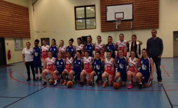 Les U20  qualifiées à GERLAND dimanche matin